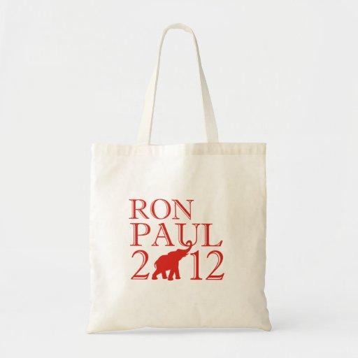 RON PAUL 2012 (Republican) Canvas Bag