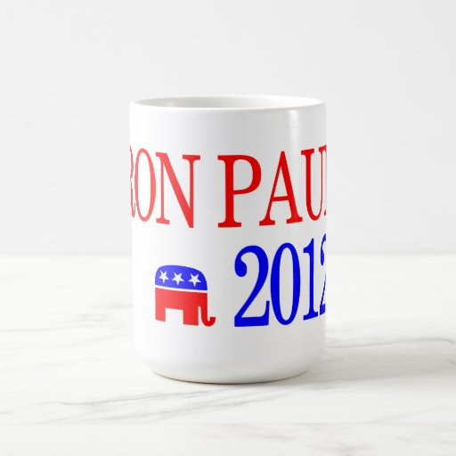 Ron Paul 2012 Republican Presidential Candidate Classic White Coffee Mug