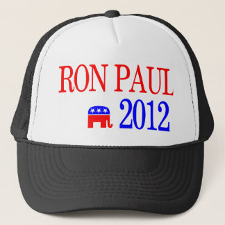 Ron Paul 2012 Republican Presidential Candidate Trucker Hat