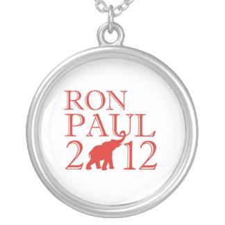 RON PAUL 2012 (Republican) Round Pendant Necklace