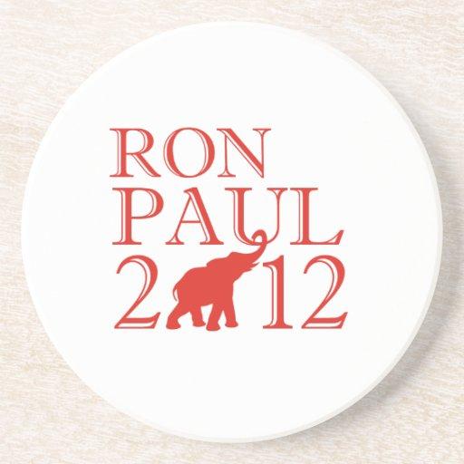 RON PAUL 2012 (republicano) Posavasos Para Bebidas