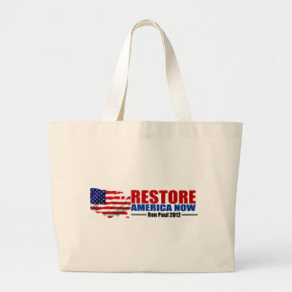Ron Paul 2012 Restablecimiento América ahora Bolsa