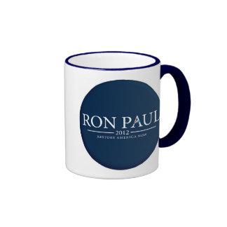 RON PAUL 2012 RESTORE AMERICA NOW CUP/MUG