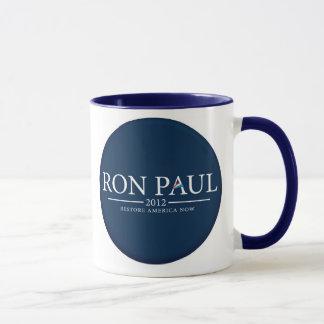 RON PAUL 2012 RESTORE AMERICA NOW CUP/MUG MUG