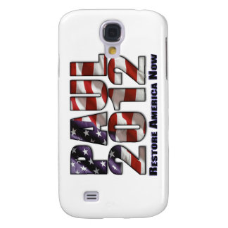 Ron Paul 2012 Restore America Now Galaxy S4 Cover