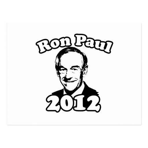 RON PAUL 2012 retro Tarjeta Postal