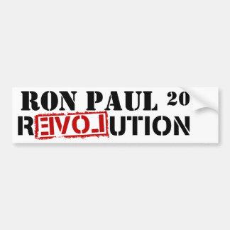 RON PAUL 2012 REVOLUTION BUMPER STICKER