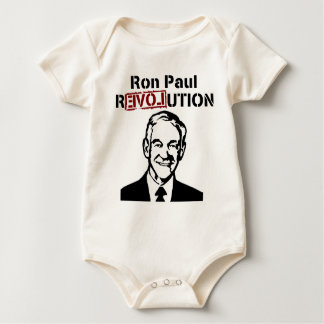 Ron Paul 2012 Revolution for President Bodysuit