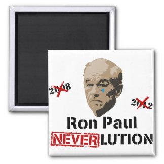 Ron Paul 2012 Revolution Neverlution Magnet