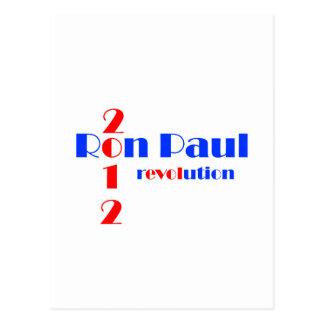 Ron Paul 2012 Revolution Postcard