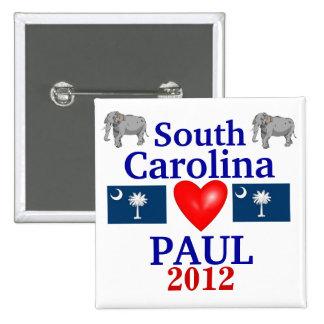 Ron Paul 2012 South Carolina Buttons