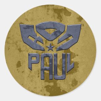 Ron Paul 2012 Round Stickers