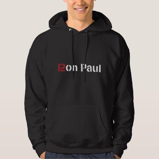 Ron Paul 2012 Suéter Con Capucha