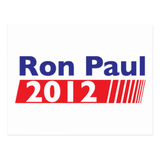 Ron Paul 2012 Tarjeta Postal