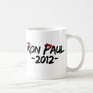 ¡Ron Paul 2012 Taza De Café