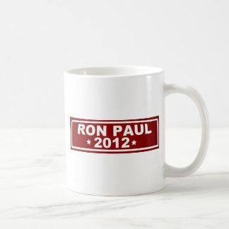 Ron Paul 2012 Taza Clásica