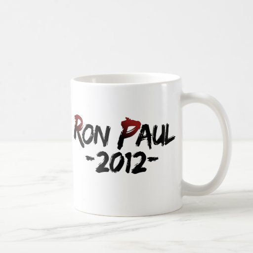 ¡Ron Paul 2012!!! Taza De Café