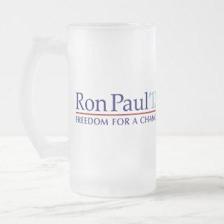 Ron Paul 2012 Taza De Cristal