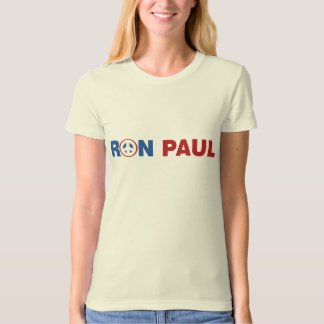 Ron Paul 2012 The Peace Candidate T-Shirt