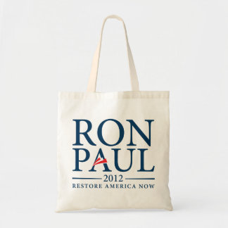 Ron Paul 2012 Tote Budget Tote Bag