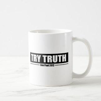 Ron Paul 2012: Try Truth Coffee Mug