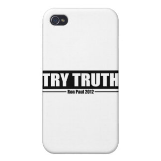 Ron Paul 2012: Try Truth iPhone 4 Cases