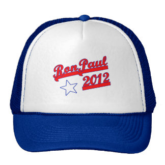 Ron Paul 2012 Tshirts, Campaign Gear Trucker Hat