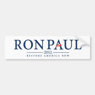 ron paul 2012 usa president election logo bumper sticker