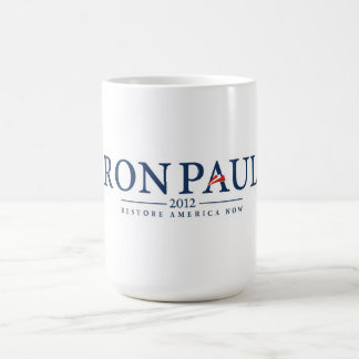 ron paul 2012 usa president election logo politics classic white coffee mug