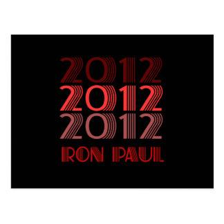 RON PAUL 2012 VINTAGE POSTCARD