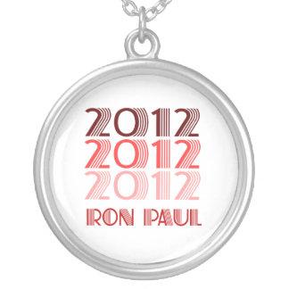 RON PAUL 2012 VINTAGE ROUND PENDANT NECKLACE