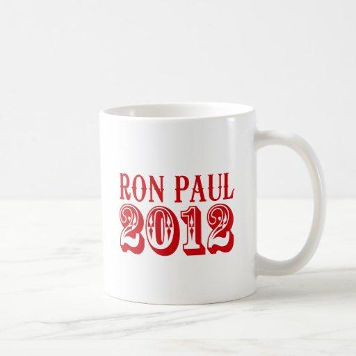 RON PAUL 2012 (Western) Classic White Coffee Mug