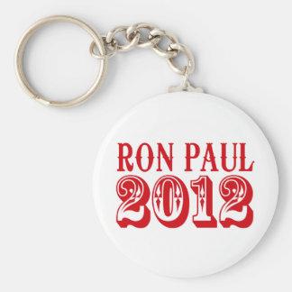 RON PAUL 2012 (Western) Keychain