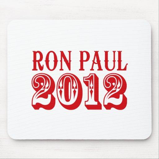 RON PAUL 2012 (Western) Mousepad
