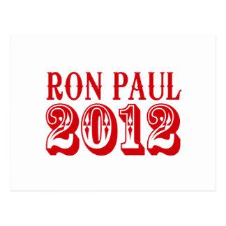 RON PAUL 2012 (Western) Postcards