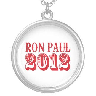 RON PAUL 2012 (Western) Round Pendant Necklace