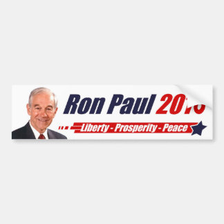 Ron Paul 2016 Pegatina Para Auto