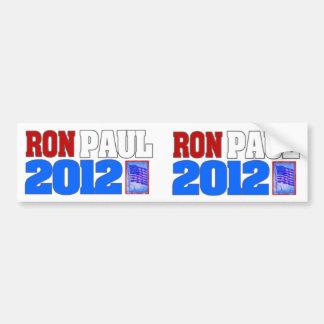 Ron Paul (2 pegatinas para el parachoques para el  Pegatina Para Auto