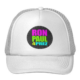 RON PAUL 4 PREZ TRUCKER HAT