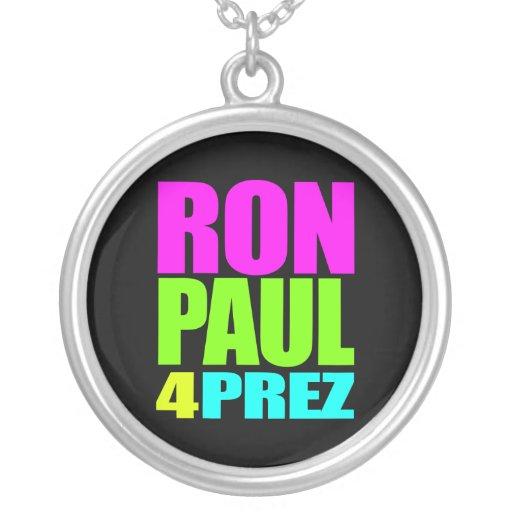 RON PAUL 4 PREZ NECKLACE