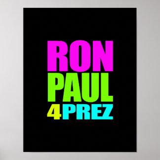 RON PAUL 4 PREZ POSTERS