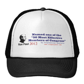 Ron Paul 50 Most Effective Members of Congress Mesh Hat