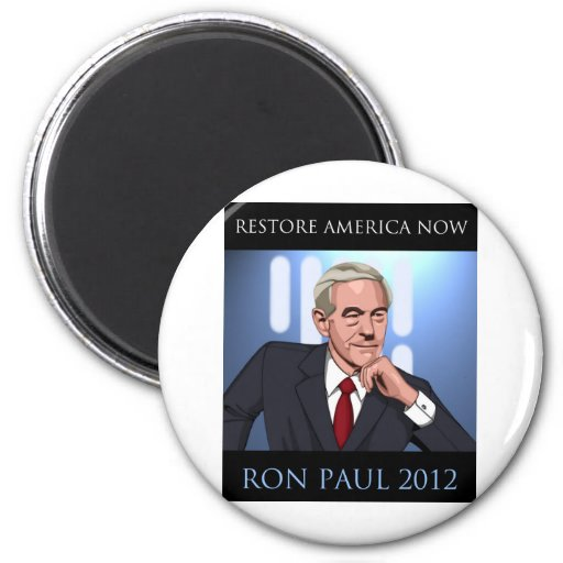 RON PAUL: A NEW HOPE 2 INCH ROUND MAGNET