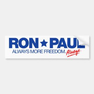 Ron Paul Always Bumper Sticker