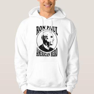 Ron Paul American Hero Hoodie