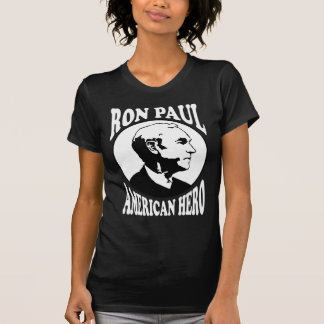 Ron Paul American Hero Tee Shirt