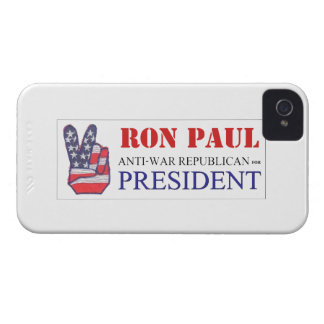 Ron Paul Anti-War Republican for President 2012 Case-Mate iPhone 4 Cases