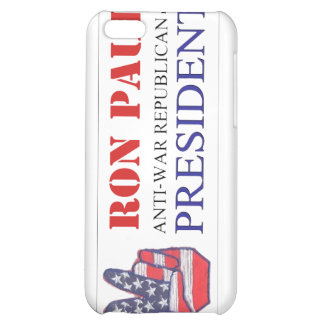 Ron Paul Anti-War Republican for President 2012 iPhone 5C Cover