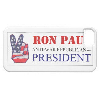Ron Paul Anti-War Republican for President 2012 iPhone SE/5/5s Case