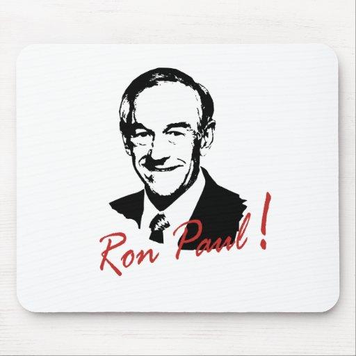 RON PAUL Autographed Pictur Mousepad